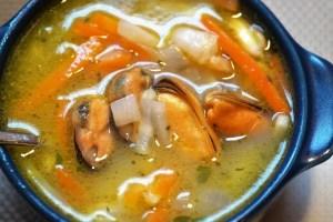 sopa de pescado thermomix - Sopas con Thermomix