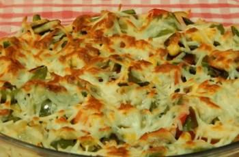 gratinado de verdura - Reciclaje de comida - brócoli gratinado