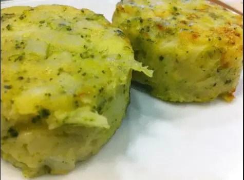 Medallones de patata y brócoli tipo Ikea