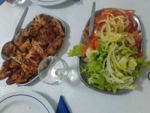 pollo asado Portugal - Recetas de Portugal