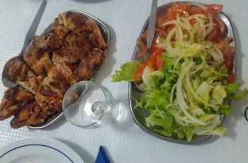pollo asado Portugal - Pollo al horno típico de Portugal