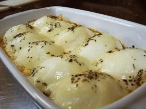 aperitivo caliente de huevo duro - Recetas de entradas tradicionales