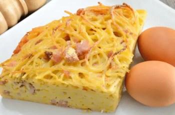 tortilla de pasta - Tortilla de pasta
