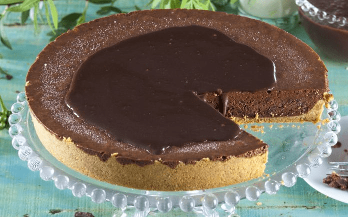 Tarta mousse de chocolate en 30 minutos