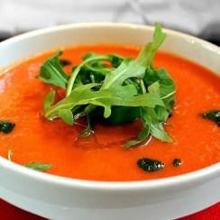 sopa de tomate thermomix - Sopa de tomate en Thermomix