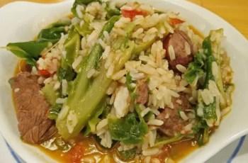 arroz con carne y verduras - Arroz con carne y verduras
