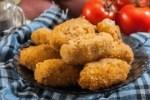 croquetas de setas y acelgas - Crema de zanahoria - receta de Santa Santa en Portugal
