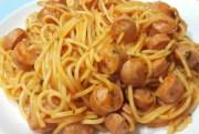 espaguettis con salchichas - Espaguetis Thermomix con salchichas