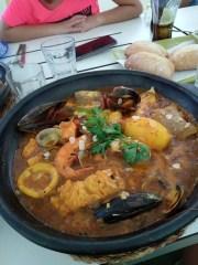 zarzuela de pescado y marisco - Zarzuela de pescado y marisco