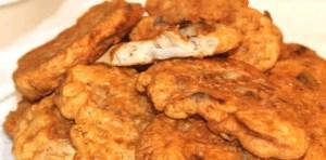 Bacalao empanado con salsa holandesa - Bacalao