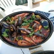 cataplana de marisco1 - Cataplana o zarzuela de pescado y marisco de Algarve