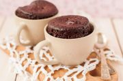 bizcocho chocolate microondas - Bizcocho chocolate microondas en 10 minutos