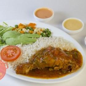 Estofado de pollo ecuatoriano
