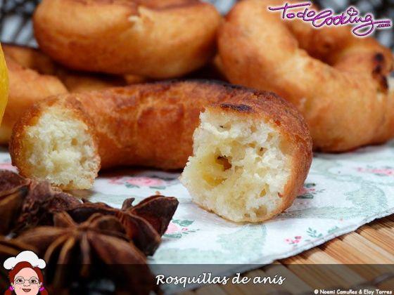 rosquillas caseras de anis