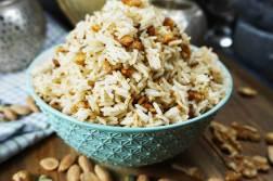 arroz con frutos secos y curry