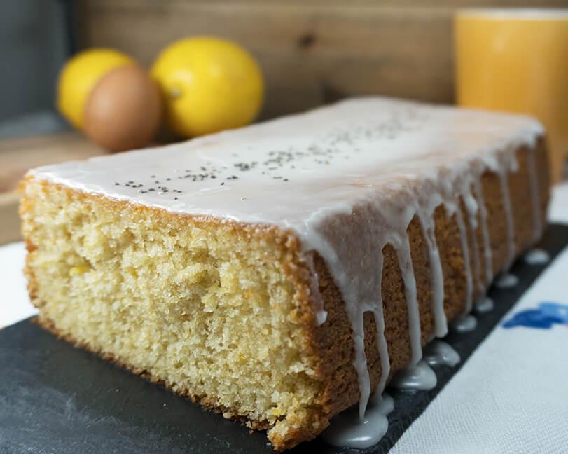 Bizcocho de limón, ¡suave y muy esponjoso!