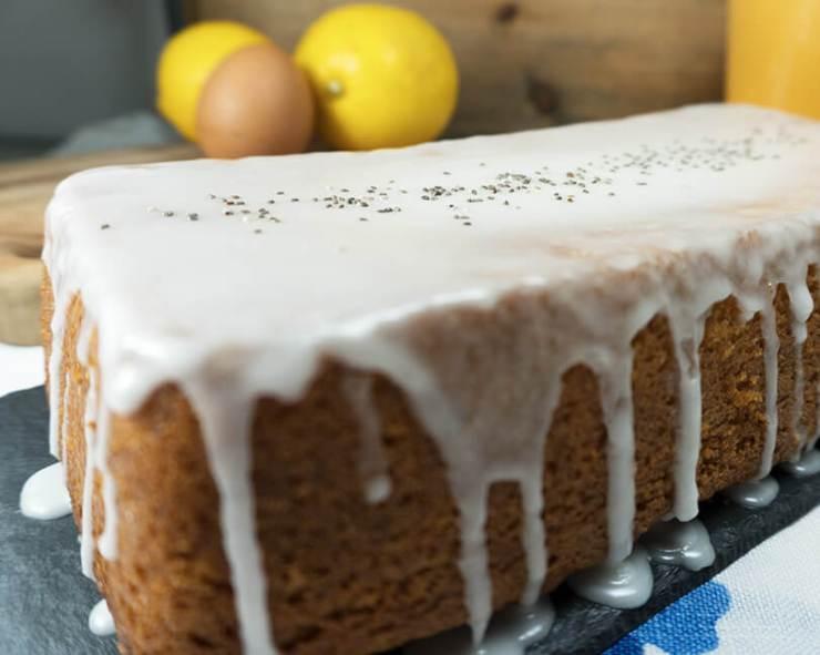 bizcocho de limón casero y fácil