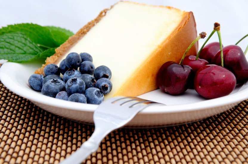 receta de pastel de queso saludable