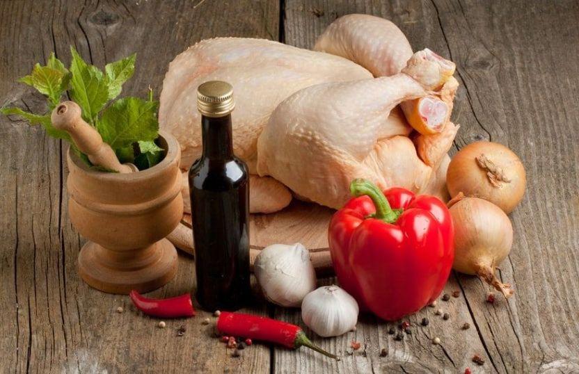 Pollo horneado con Paprika
