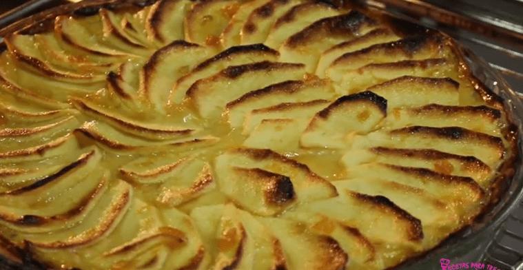 Preparar Tarta de Manzana con Crema Pastelera
