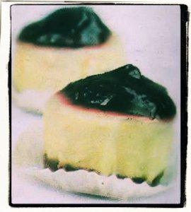 Cheesecake de chiverre