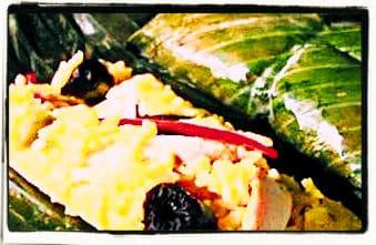 Tamales de arroz