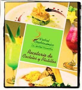 Recetario de Cocteles y Platillos de Guanacaste