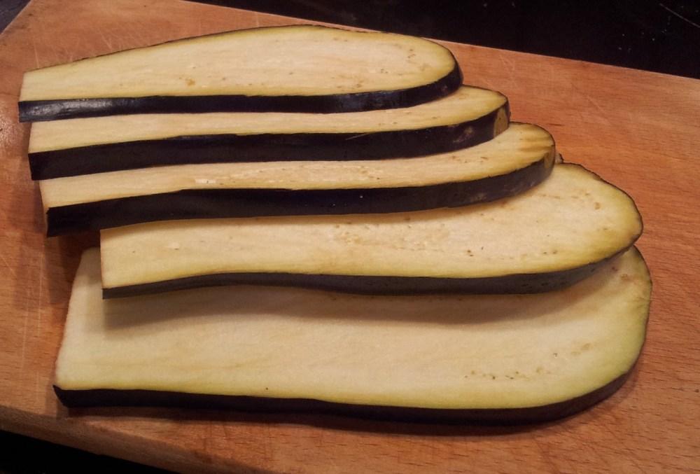Filetes fritos de berenjena, recetas vegetarianas... (2/2)