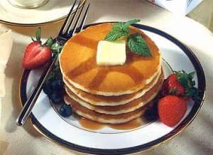 receta de hotcakes esponjosos