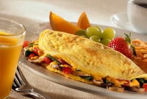 receta de omelette
