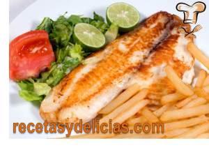receta pescado a la plancha semana santa