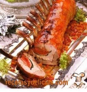 receta de costillas de cerdo a la naranja