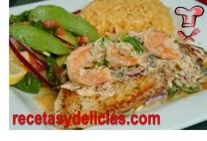 receta de rollos de filetes de pescado relleno de espinaca y zanahoria