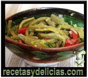 receta de nopales a la mexicana