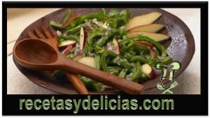 receta de nopales a la vinagreta