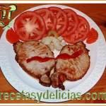 Receta de Lomo en carne india