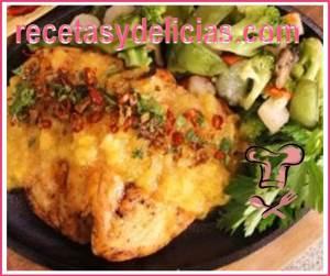 receta de pollo en salsa durazno