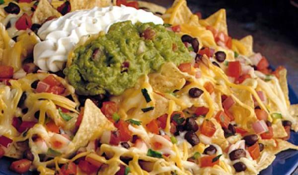 receta de nachos con totopos de crepa