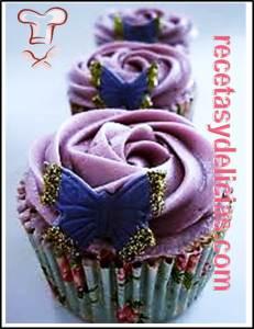cupcakes morados