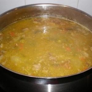 bab2d5d59ac444db8043a4f3e32c9f0e - ▷ Sopa huertana con huevo regada con un chorrito de aceite de oliva virgen extra 🥣 🥚