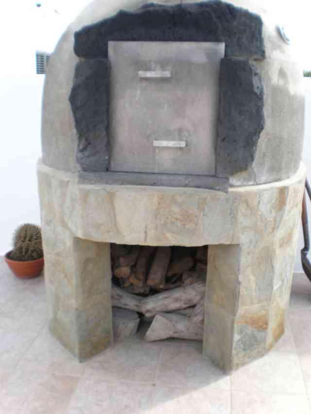 como funciona un horno de leña
