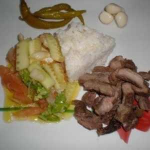 6423aed892dbf43714968caa3f627583 - ▷ Tacos de buey a la brasa con convoy de arroz y ensalada 🐂 🍚 🥗