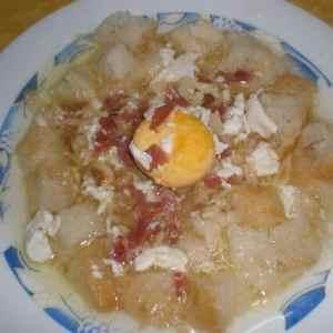 24fae0cf4e190078d5b9896e00870cd9 - ▷ Sopa de serrano con huevos 🥣 🧄