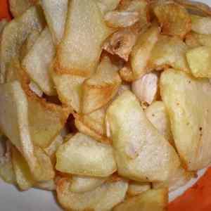 64337ffeaae67237594d79a8ceda7ce6 - ▷ Papas laminadas fritas con ajos 🥔 🧄
