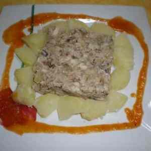 d91d2793afc1e2281971343ae9f4138f - ▷ Mezcla de pescado desmigado con papas y salsa picante 🐟 🐠