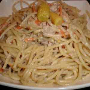 0bb2d4215d5de184c10e9f50ee1d9553 - ▷ Espaguetis integrales con ensalada china de mazorquitas 🍝