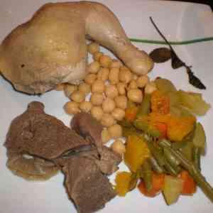 839998e06c2f41419e3797450bd73178 - ▷ Cocido de pollo y ternera 🍲 🐓 🐄