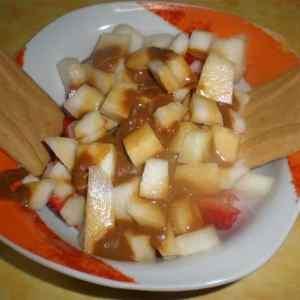 6964130a6e5a2ce8c5a7fab6251afd2e - ▷ Fruta natural regada de dulce de leche 🍐 🍓