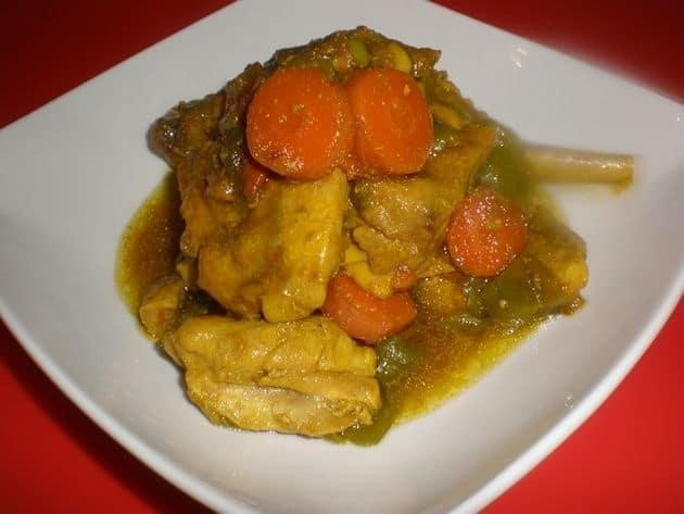 ▷ Pollo a la vinagreta 🐓 🍲