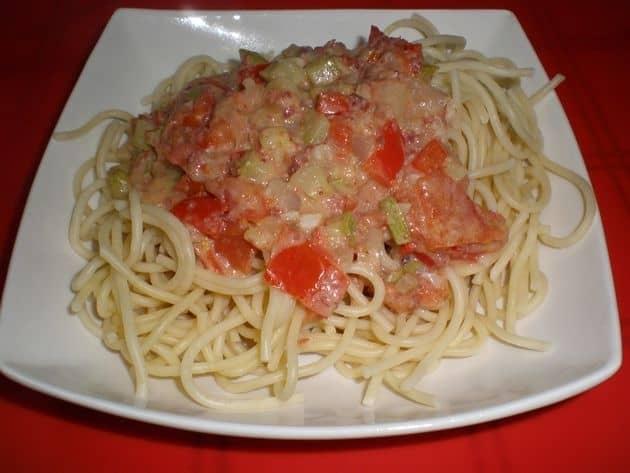 1bcfbd07454f9ec45d6daa888b9a8a71 - ▷ Espaguetis con sofrito de verdurita 🍝